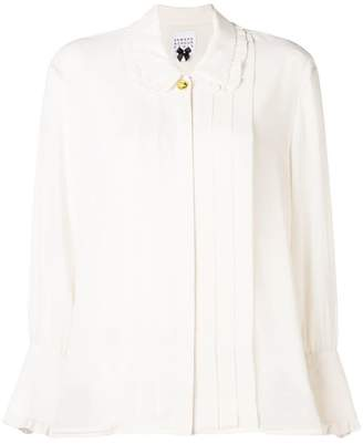 Edward Achour Paris ruffled blouse