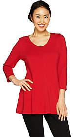 Susan Graver Modern Essentials Cotton Modal Fit& Flare Tunic