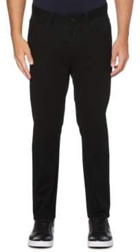 Perry Ellis Men's Tall Slim-Fit Performance Stretch Wrinkle-Resistant Stain-Repellent Twill Pants