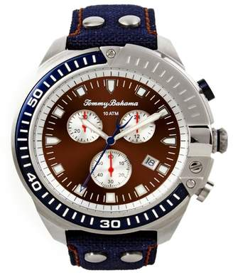 Tommy Bahama Men's Chronograph Watch, 48mm