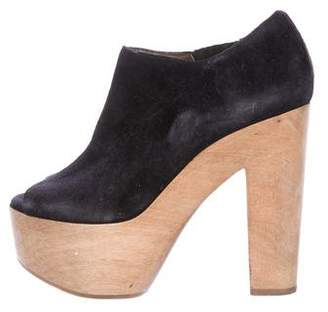 Marni Suede Platform Ankle Boots