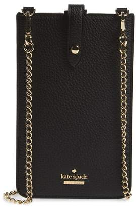 Kate Spade Pebbled Leather Phone Crossbody Bag