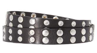 McQ - Alexander McQueen Popper Belt $240 thestylecure.com