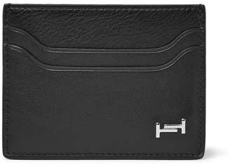 Tod's Textured-Leather Cardholder - Black