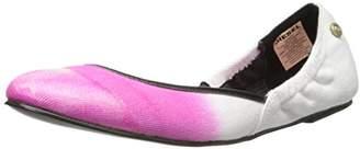 Diesel Women's Pointy Girls Closin Ballet Flat