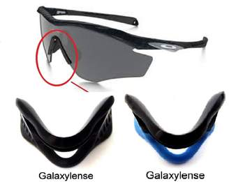 f95a6579d3 Oakley Galaxylense Galaxy Nose Pads Rubber Kits For M2 Frame Sunglasses  Black  Color