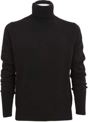 Ballantyne Ribbed Rolled Neck Sweater