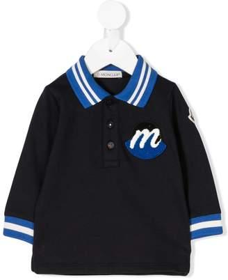 Moncler long-sleeve polo shirt