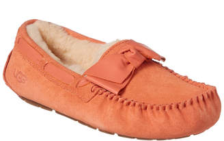 UGG Women's Dakota Leather Bow Slipper