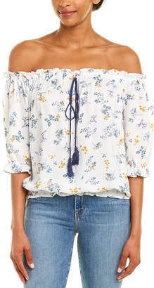 Paper Crane Off-The-Shoulder Top