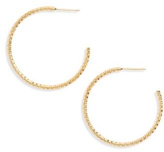 Women's Frasier Sterling Selena Hoop Earrings $22 thestylecure.com