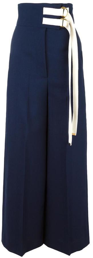 MarniMarni high waisted wide leg trousers