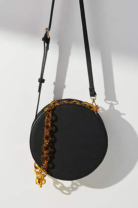 Anthropologie Chained Circle Crossbody Bag