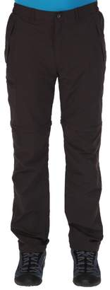 Regatta Grey Leesville Zip Off Trousers Regular Length