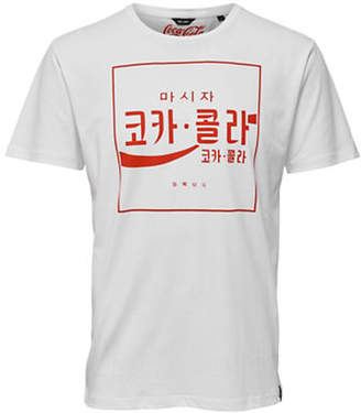 ONLY & SONS Coca-Cola Fitted Cotton T-Shirt