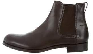 Sergio Rossi Leather Chelsea Boots