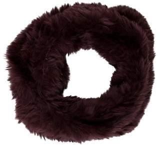 Vince Rabbit Fur Snood