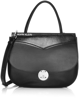 Calvin Klein Small Leather Crossbody Bag
