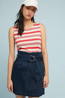 Hailee C Farrah Denim Mini Skirt