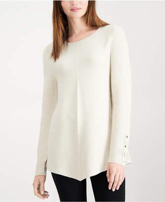 Alfani Metallic Swing Sweater