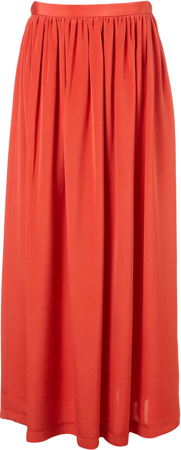 Silk Maxi Skirt By Boutique