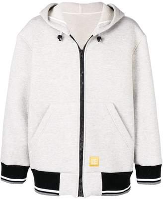 MSGM hooded logo jacket