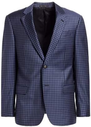 Emporio Armani Check G Line Wool Sportcoat