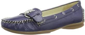 Andrea Conti Women's 0873010 Moccasins, Blue - (dunkel 017)