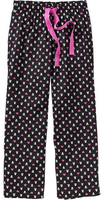 Old Navy Women's Printed Poplin Lounge Pants