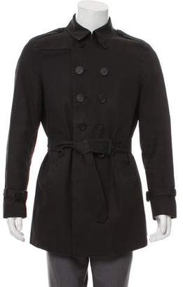 Burberry Button-Up Trench Coat