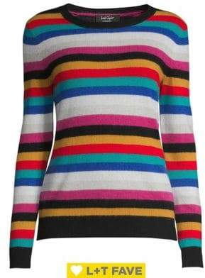 Lord & Taylor Ribbed Cashmere Sweater