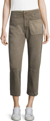Current/Elliott Current Elliott The Military Cropped Pant