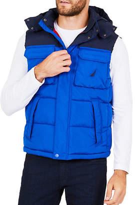 Nautica Hooded Explorer Vest