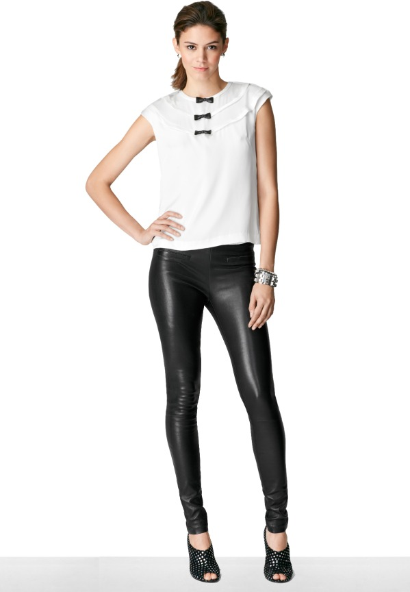 Milly Leather Legging