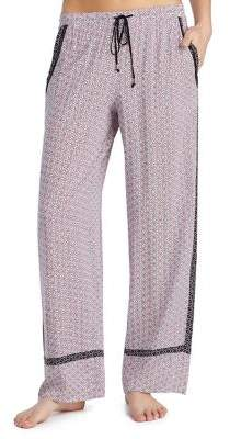 Kensie Patch Print Lounge Pants