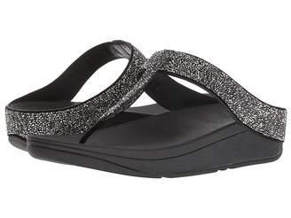 FitFlop Fino Quartz Toe Thong Sandals