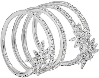 Diana M Fine Jewelry 18K 0.95 Ct. Tw. Diamond Celestial Wrap Ring