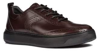 Geox Deiven 10 Brogued Low Top Sneaker