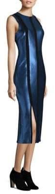 Diane von Furstenberg Sleeveless Tailored Panel Dress