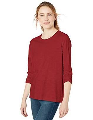 Goodthreads Amazon Brand Women's Vintage Cotton Long-Sleeve Crewneck T-Shirt
