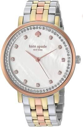 Kate Spade new york Women's 'Monterey' Quartz Stainless Steel Casual Watch Color (Model: KSW1143)