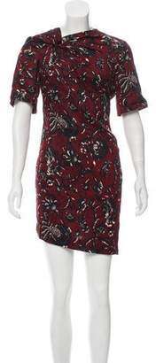 Etoile Isabel Marant Printed Mini Dress