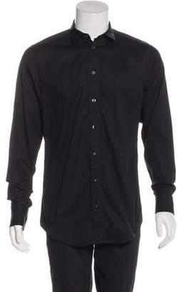 Dolce & Gabbana Woven Button-Up Shirt