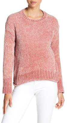 Romeo & Juliet Couture ROMEO &JULIET COUTURE Long Sleeve Chenille Knit Pullover