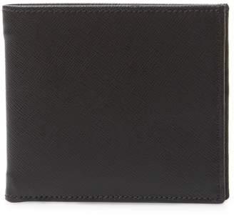DeSanto Men's Saffiano Leather Bifold Wallet