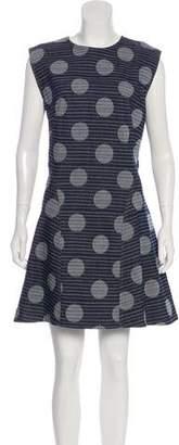 Kenzo Denim Jacquard Dress