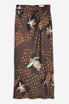 Topshop Orchid Maxi Skirt by Boutique
