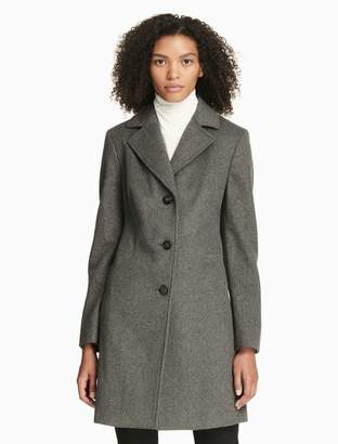 Calvin Klein wool cashmere pure overcoat