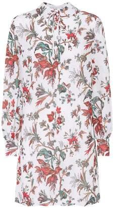 McQ Floral-printed minidress