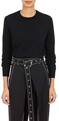 Proenza Schouler Women's Fine-Gauge Knit Wool Sweater $525 thestylecure.com